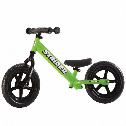 מסודר אופני איזון סטריידר 12 ספורט- ירוק | אופני איזון | בימבות, אופני HX-25